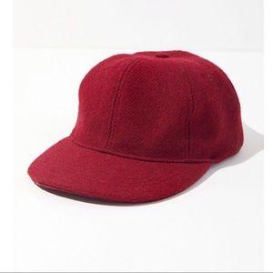 Urban Outfitters Maroon Baseball Hat Felt OS NWT